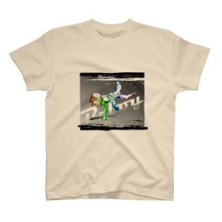 B-boy Tシャツ