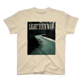 LIGHT YOUR WAY T-shirts