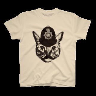 NobigaoのNobigao ボビーキャットポリス T-shirts