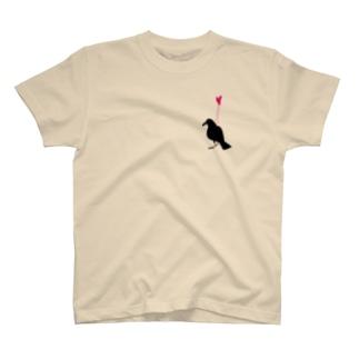 こいしちゃったカラス T-shirts