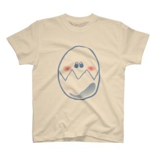 フェイスエッグ T-shirts