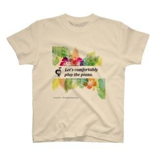 【限定】らくらくピアノ2014オリジナル夏バージョン T-shirts
