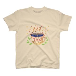 Teaシャツ(紅茶) T-shirts