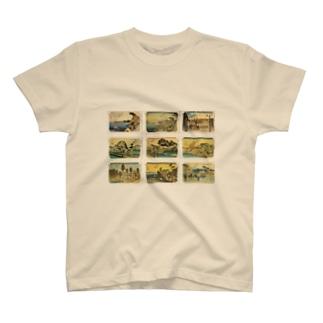 広重-1 T-shirts