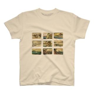 広重-2 T-shirts