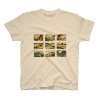 広重-3 T-shirts