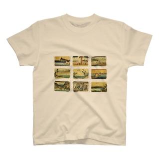 広重-4 T-shirts