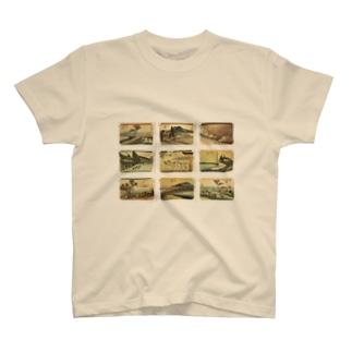 広重-5 T-shirts
