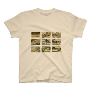 広重-6 T-shirts