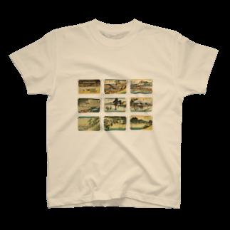 安永峰夫の広重-6 T-shirts