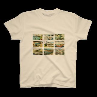 安永峰夫の北斎-2 T-shirts