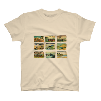 安永峰夫の北斎-3 T-shirts