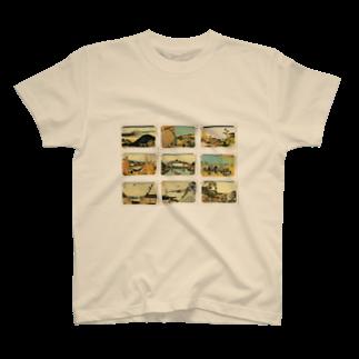 安永峰夫の北斎-4 T-shirts