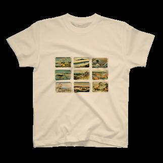 安永峰夫の北斎-5 T-shirts