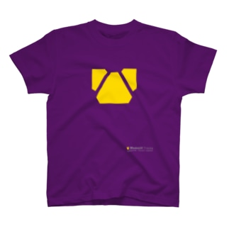 Madstiff Tracks Logo 「CHILDREN'S MADNESS」 [Yellow] T-shirts