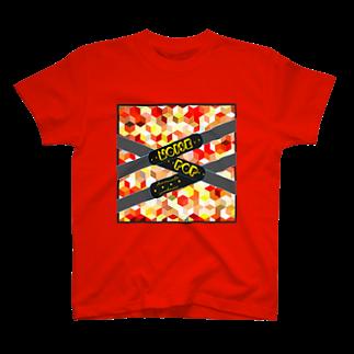 hansoloのwebsitemodel(red) T-shirts
