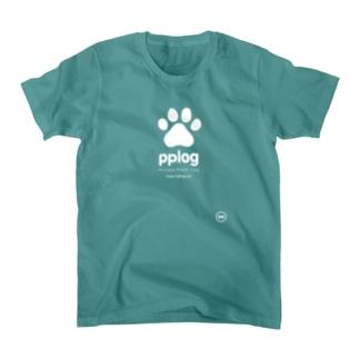 pplog(白抜き) Tシャツ