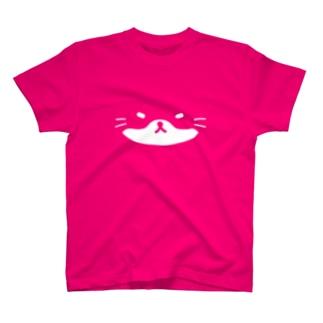 =`ω´=(色地印刷用) Tシャツ