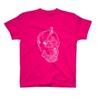 Jus Wanna Kiss-3(ボディは濃色がおすすめver.) T-shirts