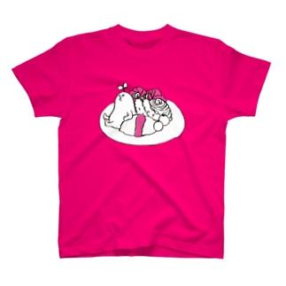 mebaelunch(magenta) T-shirts