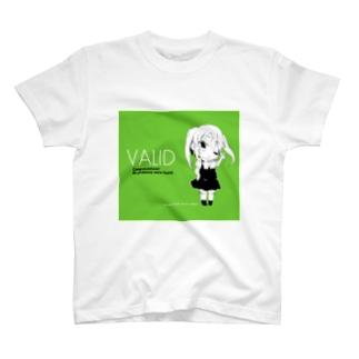 電書ちゃん Valid シリーズ Tシャツ