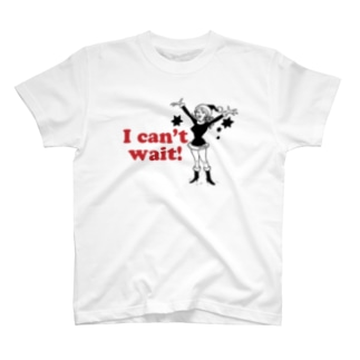 I CAN'T WAIT! Tシャツ