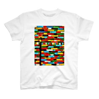 壁 Tシャツ
