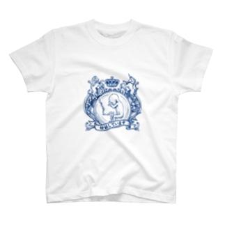 妊婦マーク(エンブレム) Tシャツ