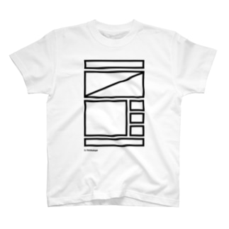 ワイヤーフレームお試し BK Tシャツ
