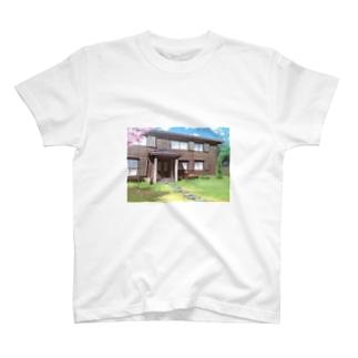 春の風景 Tシャツ