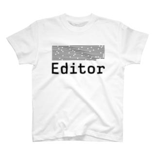 Editor Tシャツ