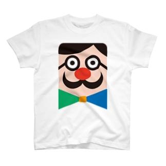 ひげメガネくん Tシャツ
