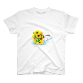 ミニヒマワリ Tシャツ