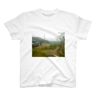 懐かしい風景 Tシャツ