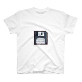 フロッピーさん Tシャツ