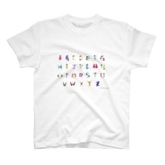 Alphabet Tシャツ