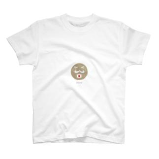応援だるま Tシャツ
