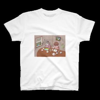 コルディアルメンテのお絵描き Tシャツ