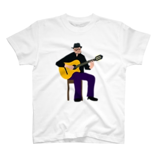 musician abe-san Tシャツ