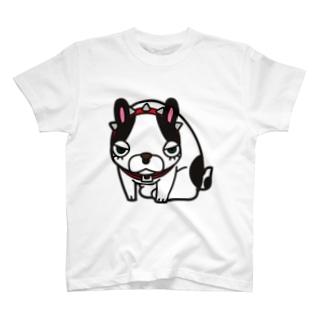 Burita the frenchbulldog Tシャツ