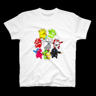 ドロイド君ヒーローズ Tシャツ