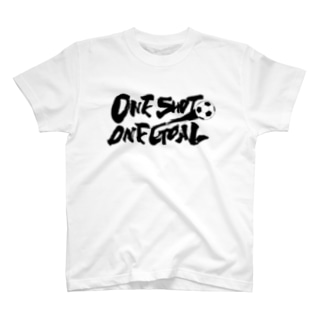 One Shot One Goal Tシャツ