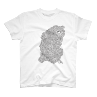 burnworks designの迷路Tシャツ