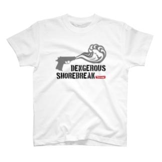 DENGEROUS SHOREBREAK Tシャツ