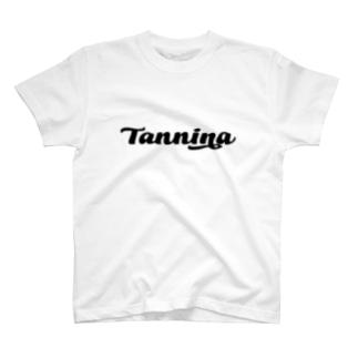 Tannina BLACK Tシャツ