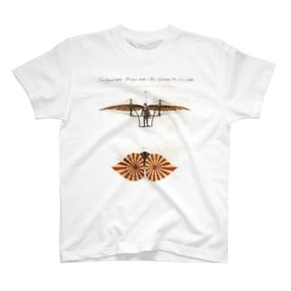 18世紀の飛行機 Tシャツ