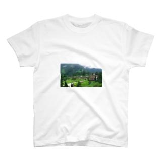 五箇山合掌造り T-shirts