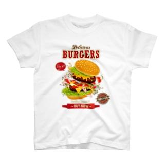 Hamburger Series Tシャツ