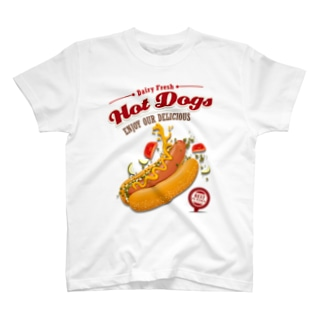 Hot dog series T-shirts