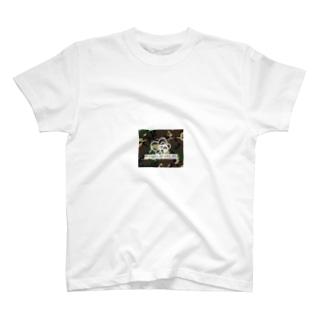 パンダミリタリーロゴ・Tシャツ T-shirts